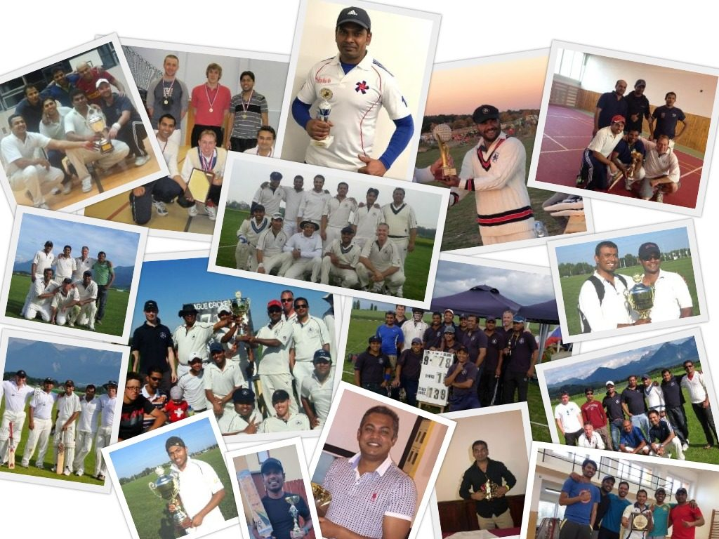 trophy collage
